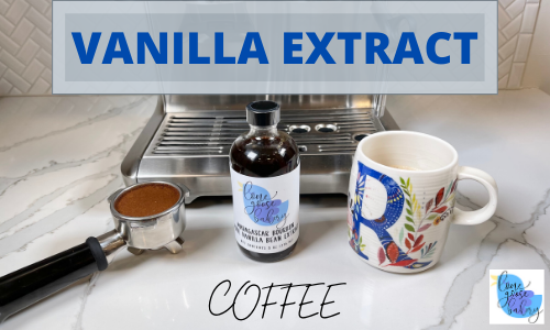 vanilla extract in coffee