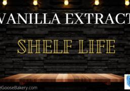 vanilla extract shelf life
